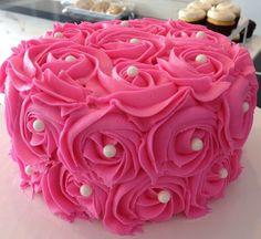 rosette cakes - Google Search