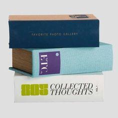 Buch zur Aufbewahrung 3 Designs, abgenutzter Look von house doctor
