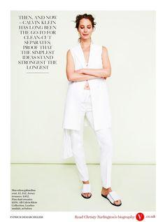 Christy Turlington photographed by Patrick Demarchelier   British Vogue   April 2014   Spirit Of The Moment