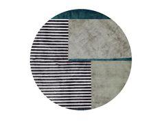 Geometric Shapes Design, Shape Design, Round Rugs, Rugs On Carpet, Branding Design, Weaving, Art, Circular Rugs, Penny Rugs