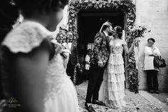 #ItalianWedding - happiness after ceremony! #art #blackandwhite #bianconero #bnw #congrats #ceremony #happiness #instawedding #marrige #love #weddingday #flower #wedding #Puglia #brideandgroom #emotion #forever #weddingdress #together #weddingphotographer #romance #traditions #vsco #instawed #photooftheday with @gianninarracciophotographer