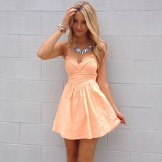 Cute dress....longer would be perfect!