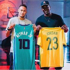 Neymar X Jordan Football X Basketball ⚽️X 10 X 23 ❣ #neymarjr #neymar #ney #njr #nj #NeymarjrUSA #USA #NewYork #love #top #Nike #Nikefootball #neymarjrsiteoficial #jordan #michaeljordan #10 #23 #basketball #football #neymarXJordan
