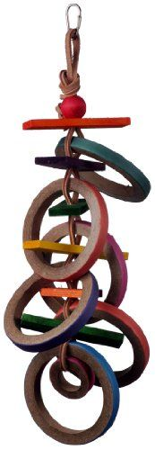 Super Bird Creations 18 by 4-Inch Olympic Rings Bird Toy, Large Super Bird Creations http://www.amazon.com/dp/B003HDXJCI/ref=cm_sw_r_pi_dp_FhxMub0K0720Y