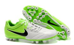 Nike Total 90 Laser IV AG Mens Artificial Grass Soccer Cleats(White Green  Black) 71c6717140ad