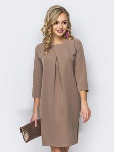 Fashion dresses casual business attire New Ideas Simple Dresses, Cute Dresses, Beautiful Dresses, Casual Dresses, Short Dresses, Skirt Fashion, Fashion Dresses, Vestidos Plus Size, Business Casual Attire