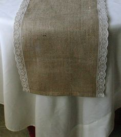 Items similar to FALL Burlap wedding decorations, BROWN Burlap table runner, country rustic, woodland cottage, & French country weddings on Etsy