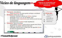 Português para todos: Vicios de linguagem
