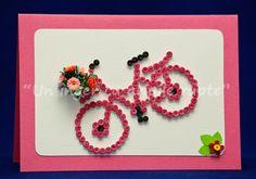 Bicicleta cu flori!
