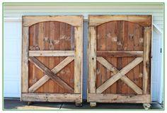 Gorgeous Barn Doors From Old Barn Floor Boards 1024×682