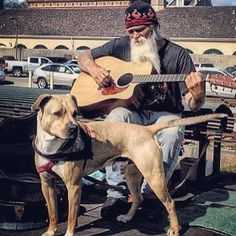 Just a man and his dog... #singing #neworleans #louisiana #frenchquarter #hood #dogsofinstagram #dog #pets #newyorker #traveling #roadtrip #fromthebronx #thebronx #nyc #everydayusa #usa #america #merica by kravmaga43
