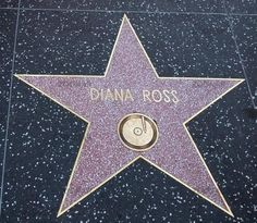 Diana Ross is one of the few recording artists to have two stars on the Hollywood Walk of Fame—one as a solo artist and the other as a member of The Supremes.
