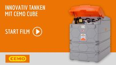 CEMO - CUBE Tank für Diesel, AdBlue und Schmierstoffe