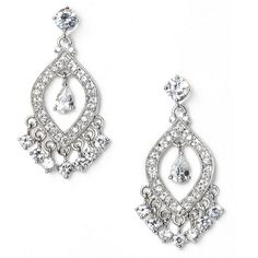 Nadri Triangle Chain Chandelier Earrings (Nordstrom Exclusive ...