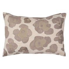 Jaipur Big Cat Cheetah Print Cotton Decorative Pillow - Ivory Polyester Fill - PLC101334_P
