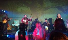 Here's a snapshot of Treguenda playing last night at The Good Faeries Ball!