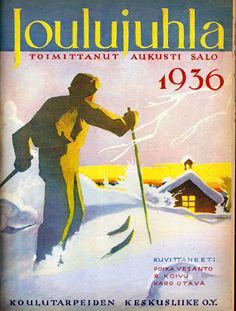 JOULUJUHLA 1936  Kansi: Poika Vesanto