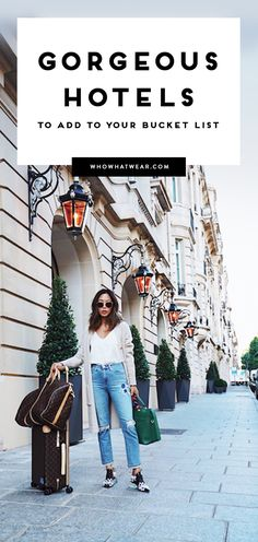 The Fancy Hotels That Fashion Bloggers Always Instagram
