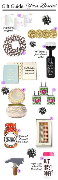 The ultimate gift guide for your best friend!