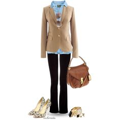 Casual, But Chic - Polyvore