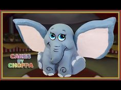 Dumbo inspired Baby Elephant Cake (How To) - YouTube