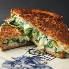 Spinach Artichoke Grilled Cheese - Get Healthy U | Chris Freytag