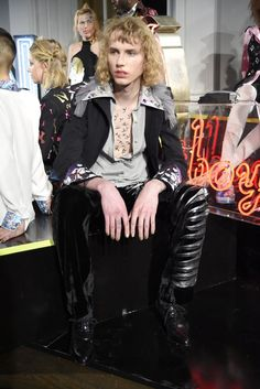 Mary Benson for Fashion East RTW Fall 2015