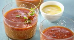Una zuppa può essere anche fredda! Provate questo Gazpacho e le sue n alternative⇩   #LeIdeediAIA #AIA #Gazpacho #ricette #viversano #succo #pomodoro #food #foodie #yum #yummy #cook #cooking