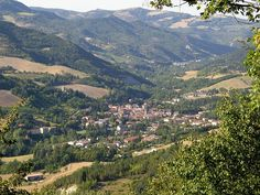 This is San Casciano, in Florence Italy. My cousin's name is Casiano, as good as any reason to visit :)   File:Rocca san casciano.jpg