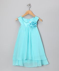 Take a look at this Pool Flower Yoke Dress - Toddler & Girls by Kid's Dream on #zulily today!