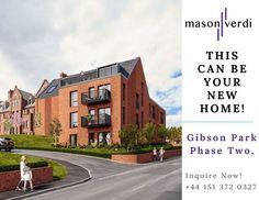 Gibson Park Phase II available now for Booking, Seabank road, New Brighton, Wallasey - Merseyside. Few unite left for sale. This can be your new house in Liverpool. for more information call us on +44 151 372 0327. #liverpoolproperty #gibsonpark #marinersview #wallaseydevelopment New Brighton, Luxury Apartments, Apartment Living, Liverpool, Property For Sale, New Homes, Real Estate, Estate Agents, Mansions