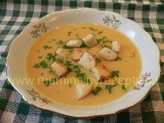 + Dvojrohlíková polévka Thai Red Curry, Soup, Ethnic Recipes, Soups