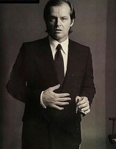 Jack Nicholson (1937) is an American Actor & Filmaker
