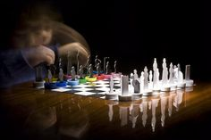 Matt - recycled cardboard chess + your plastic bottle caps. aquapoltabile.com