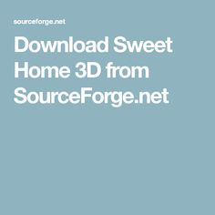 Download Sweet Home 3D from SourceForge.net