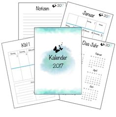 Die 2092 Besten Bilder Von Planer Organizers Calendar 2018 Und