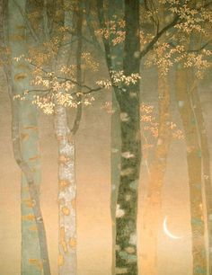How dear the woods are! You beautiful trees! I love every one of you as a friend. ~ Lucy Maud Montgomery