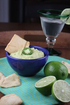 Cilantro lime jalapeño hummus--I've made this several times. K and I both love it. --A