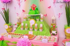 Ina's Place Invitations & Party Supplies: Fairy Dust - Tinkerbell - Candy Boxes & Toppers