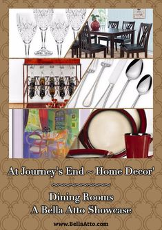At Journey's End ~ Dining Room Gifts ~ To Give & Save is Beautiful ~ Gift Ideas, Sweet Deals, & More + Giveaways. Join Us!
