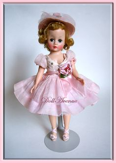 Vintage Madame Alexander Cissette Mystery Beauty; owned by Karen/Doll Avenue