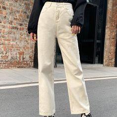 Beige Pants, Khaki Pants, Fall Wardrobe, Thighs, Size Chart, Style Inspiration, Fashion Outfits, Legs, Crop Tops