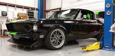 Recommended Reading: The record-breaking all-electric '68 Mustang