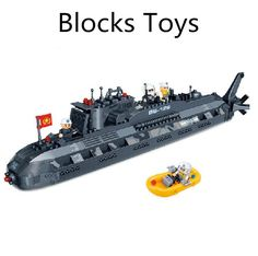 34.79$  Buy now - http://alimyn.shopchina.info/1/go.php?t=1987627924 - Children's educational toys,assembled blocks toys ,Fight inserted submarine,free shipping  #buychinaproducts