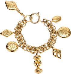 Chanel Vintage charm braclet