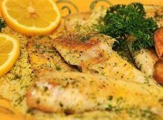 Mouth-Watering Garlic Baked Fish Recipe