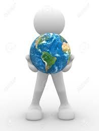 Resultado de imagem para globo terrestre redondo em 3d