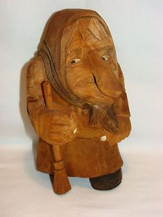 .Hand carved (of course)