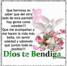 SUEÑOS DE AMOR Y MAGIA: Dios te bendiga