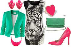 """""""Eye of the Tiger"""" by keelykamikazi on Polyvore"""